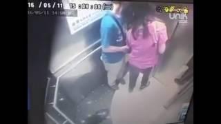 Jorok, Wanita Ini Kencing di Lift dan Terekam CCTV