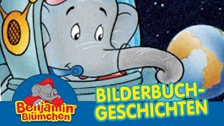 Benjamin Blümchen auf dem Mond BILDERBUCH GESCHICHTEN