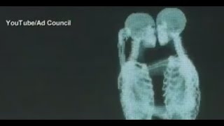 Love Has No Labels: Skeletons Kiss Behind Screen