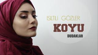 IŞILTILI GÖZLER , KOYU DUDAKLAR || Glitter Eyes Bold Lips
