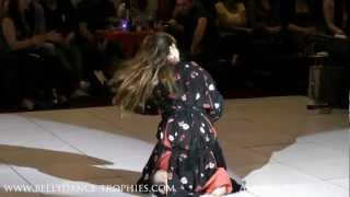 Moroccan DANCE( Ayanna Raqs) Belly dance Trophies Semi-finals!