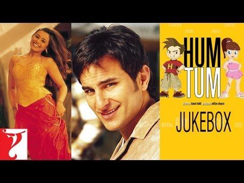 Hum Tum Full Song Audio Jukebox | Jatin & Lalit | Saif Ali Khan | Rani Mukerji