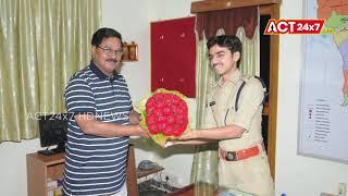 Adala Prabhakar Reddy Meets SP Aishwarya Rastogi  || Nellore || ACT24X7HDNEWS