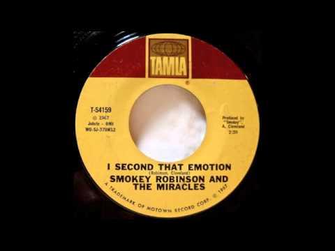 Smokey Robinson. I Second That Emotion.