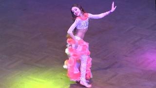 Анна Тимошенко ☀ Raks Sharki Belly Dance FINAL Juvenals ☀ Ukrainian Oryantal Dans Championship