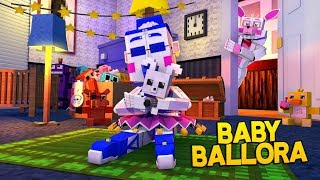 Minecraft Fnaf: Sister Location - Baby Ballora (Minecraft Roleplay)