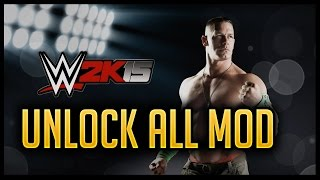 WWE 2K15 Unlock All Modded Gamesave USB Download!! [XBOX 360/PC]::