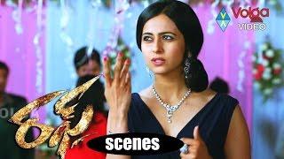 Rough Movie Scenes - Rakul Preet Birthday Scene - Aadi,Rakul Preet Singh