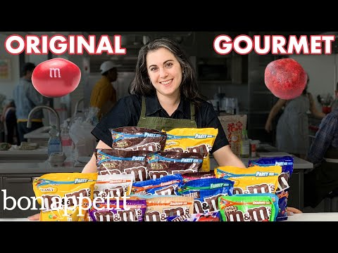 Pastry Chef Attempts to Make Gourmet M&M s Gourmet Makes Bon Appétit