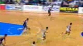 Drazen Petrovic 1989 Eurobasket final Yugoslavia - Greece