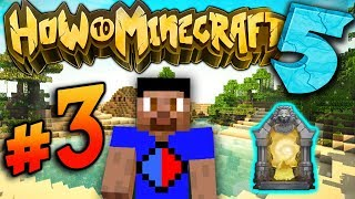 DUNGEON RAIDING! - How To Minecraft S5 #3