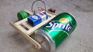 How to Make a Road Roller / Bulldozer at Home using DC Motor  DIY