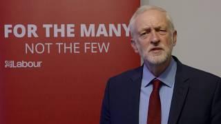 Jeremy Corbyn's message to the Jewish community