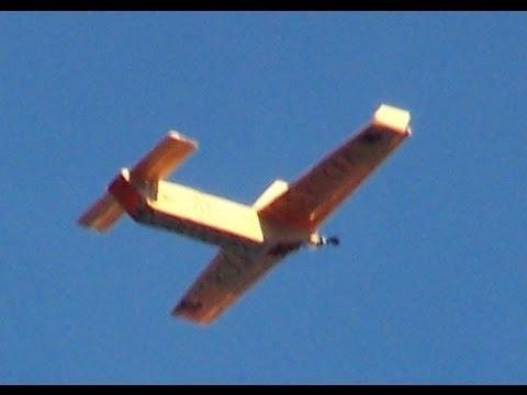 como construir un avion RC muy barato planos PDF gratis