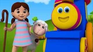Bob The Train | Little Bo Peep Has Lost Her Sheep | Nursery Rhymes | Kids Song