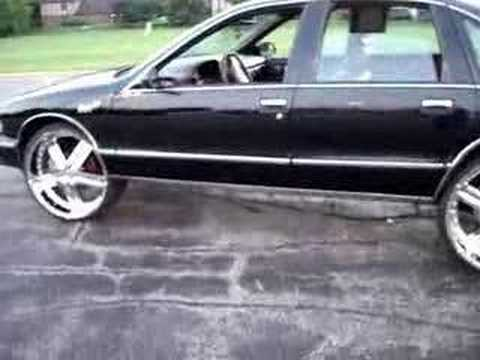 How to put 24s 26s on your Chevy Caprice Bubble CHROME
