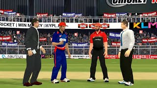 21st April IPL 11 Royal Challengers Bangalore Vs Delhi Daredevils Real cricket 2018 mobile Gameplay