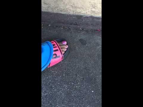 Ebony toes
