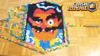 100000 Dominoes in Clash Royale | All Troops of Clash Royale