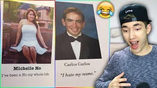 Funniest Senior Yearbook Quotes! (I Hope These Aren