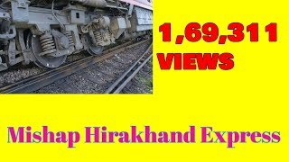 Otv Odia news Today live Report Hirakhand Express Accident.