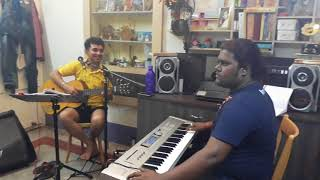 Moner manush Sung by Biswajeet Tabla by Pritam Chakraborty