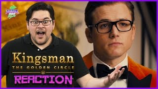 Kingsman: The Golden Circle | Official Red Band Trailer Reaction