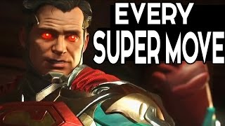 Injustice 2 - Every SUPER MOVE with Every Character so Far 2017