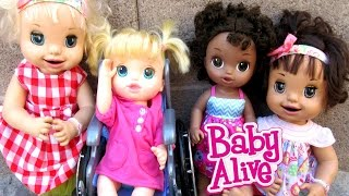 BABY ALIVE Margie McCabe's Little Cousin Reunites With Erin!