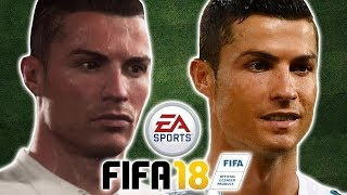 Can You Guess The Footballer From Their FIFA 18 Face? Who Is Most Realistic?