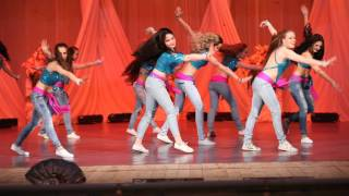 Street shaabi. FAIZA belly dance group. Choreographer and art director - Veronica Fatin.