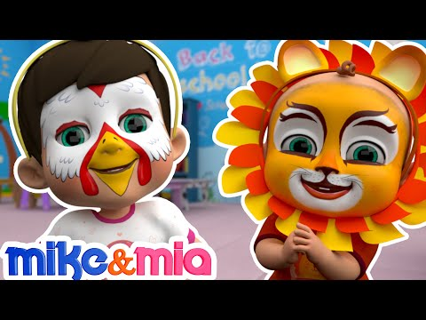 Paint my Face Song Animal Dance Nursery Rhymes for Kids