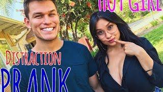 Hot Girl Distraction Prank