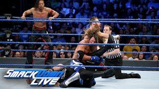 AJ Styles & Shinsuke Nakamura vs. Kevin Owens & Sami Zayn: SmackDown LIVE, Jan. 30, 2018