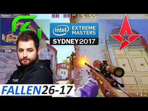 FalleN 26-17 POV / SK vs Astralis / Inferno / CS:GO IEM Sydney 2017