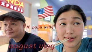 A MONTH IN MY LIFE: Summer School, Greece + Guam! | AUGUST VLOG