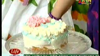 Birthday Cake - Recipe by Meherun Nessa presented at ATN RANNA GHOR (every Saturday11:30 AM)