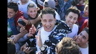 """حمو بيكا .. صاحب مهرجان """" رب الكون ميزنا بميزه """" في الشارع"""