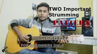 Beginner Acoustic Guitar Lesson-Two most important strumming pattern-Tutorial 5