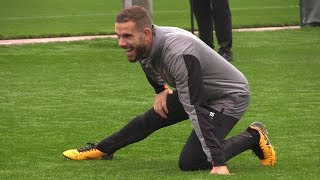 Liverpool Train Ahead Of Champions League Clash With Spartak Moscow