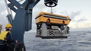 Testing an ROV down to 3000m