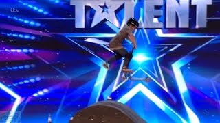 Britain's Got Talent 2017 Charley Dyson Kid Scooter Daredevil Full Audition S11E02