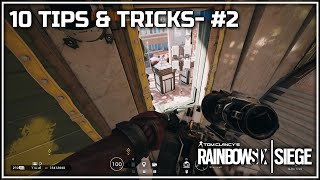 New Maestro Cam spot and Spawn peek angle - Ten Tips & Tricks - #2 - Rainbow Six Siege