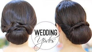 Wedding appropriate updos