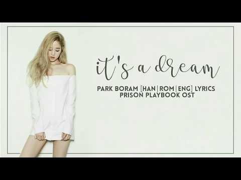 박보람 ParkBoram – It's A Dream [Han Rom Eng] Prison Playbook OST Part 3