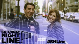 Saturday Night Line: SNL's Vanessa Bayer and Fans Reveal Their Nightmare Summer Jobs