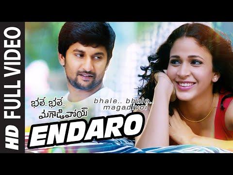 Endaro Full Video Song || Bhale Bhale Magadivoi || Nani, Lavanya Tripathi