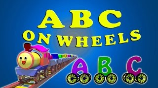 ABC on Wheels Medley | ABC Train Song | ABC Bus Song | ABC Song in 3D
