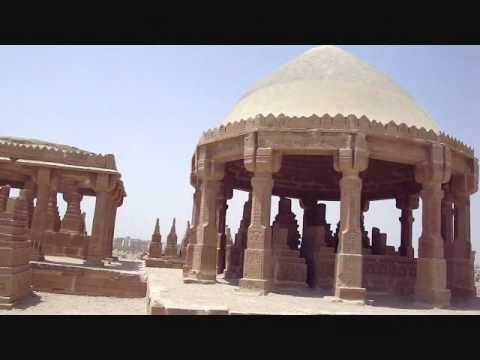 Mausoleum of Tajal Bewas, Chaukundi, Karachi