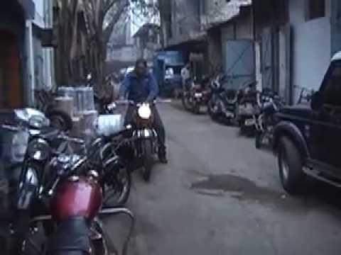 BSA A7 Goa Police Bike